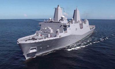 Angkatan Laut AS Luncurkan Kapal Jelajah Amfibi USS Portland