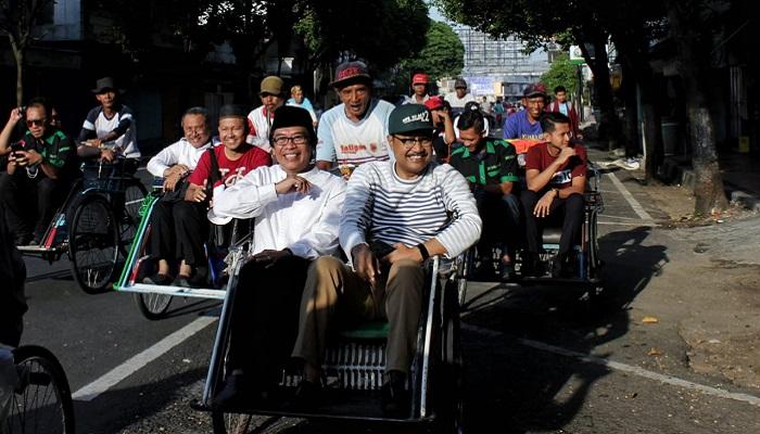 Awali Kampanye, Gus Ipul Sapa Ribuan Warga di Jember. (FOTO: NUSANTARANEWS.CO/ Setya)
