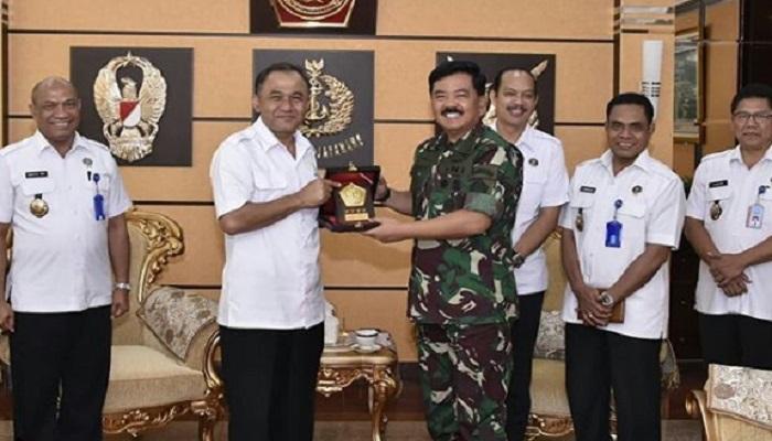 BNN dan TNI Pastikan Bekerja Sama dalam Agenda Pemberantasan Narkoba. (Foto: Puspen TNI)