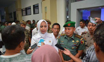 Bupati Jember Faida MMR menjelaskan Program Satu Sekolah Satu TNI (S3T). (Foto: Istimewa)