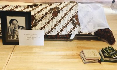 Cak Imin Doakan Mendiang Deddy Sutomo dapat Tempat Mulia di SisiNya. (FOTO: NUSANTARANEWS.CO/@poeticpicture)