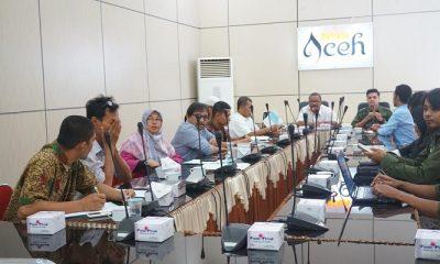 Dinas Kebudayaan dan Pariwisata (Disbudpar) Aceh menggelar rapat persiapan rilis Destinasi Digital Pasar Lambung akhir April 2018. (Foto: Istimewa)