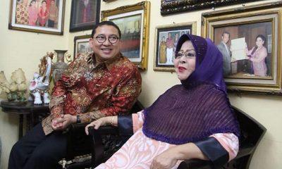Sambangi Waljinah si Ratu Keroncong, Fadli Zon Berharap Koroncong jadi Warisan Dunia. (FOTO: NUSANTARANEWS.CO)