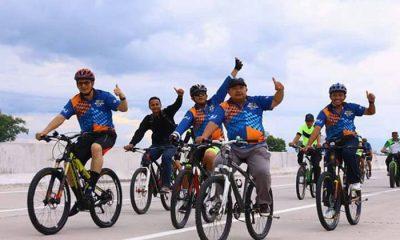 Festival Jalan Tol Ngawi-Kertosono. (Foto: Dok. NusantaraNews)
