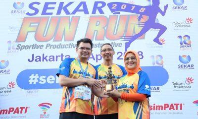 SEKAR Telkom Fun Run 2018. (Foto: Istimewa)