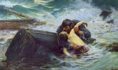 Puisi Perpisahan dan Perempuan Yang Suka Menidurkan Matanya. (Ilustrasi: Goodbye! - 1892 - Alfred Guillou. FOTO: NUSANTARANEWS.CO)