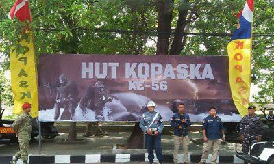 HUT Komando Pasukan Katak (Kopaska) TNI Angkatan Laut (AL). (Foto: Acmhad S)