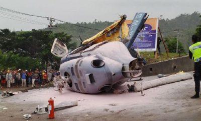 Helikopter Bermuatan 6 Warga Negara Tiongkok Jatuh di Morowali