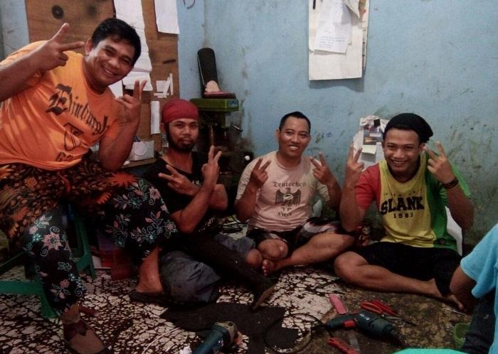 Para penyandang kebutuhan khusus di Sukabumi (Foto Istimewa/Nusantaranews.co)