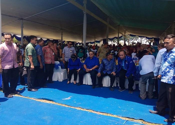 SBY menyerap aspirasi warga Lamongan, Jawa Timur. (Foto: Setya/NusantaraNews)