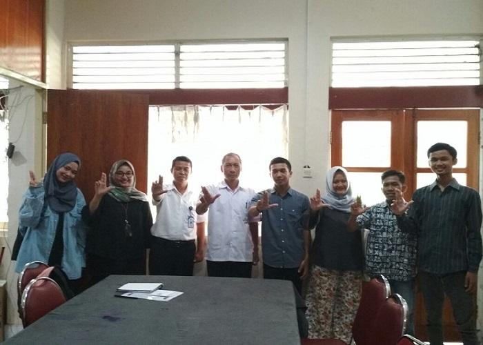 Komunitas gerakan pemuda melawan korupsi dan Dikpora Provinsi Daerah Istimewa Yogyakarta (DIY). (Foto: Istimewa)