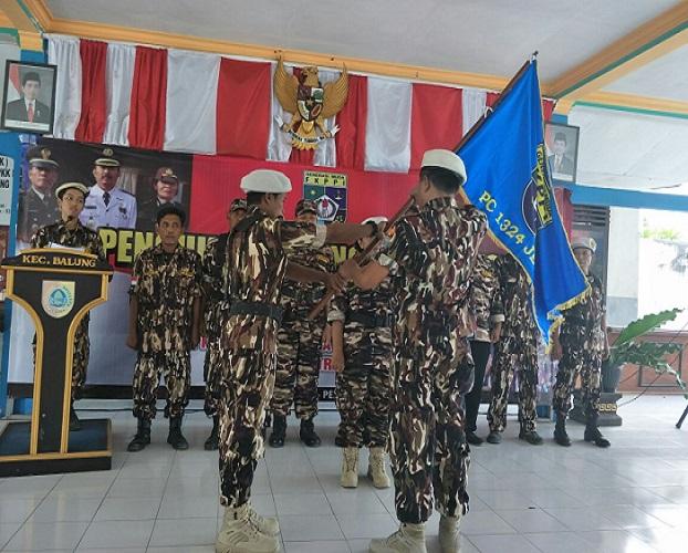 Pengukuhan Pengurus Ranting FKPPI Balung, Jember, Jawa Timur. (Foto: Istimewa/Sis)