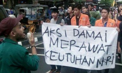 Aksi Foruk BEM Daerah Istimewa Yogyakarta (DIY). (Foto: Istimewa)