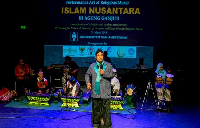 Acara Pagelaran Budaya Islam Nusantara di belahan Barat Eropa. (Foto: PCI NU Belanda/Ibnu Fikri)