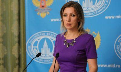Juru bicara Kementerian Luar Negeri Rusia Maria Zakharova menyebut barat berusaha mewujudkan perang dunia di Suriah. (Foto: Mikhail Voskresenskiy Sputnik)
