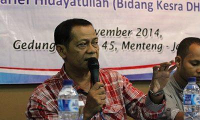 Presiden Konfederasi Serikat Buruh Sejahtera Indonesia (KSBSI) Mudhofir Khamid