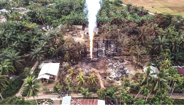 Kebakaran di Aceh Timur Berhasil Dipadamkan, 21 Orang Meninggal dan 38 Lainnya Luka-luka
