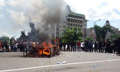 Kecewa Kebijakan Bupati Ipong, Aliansi Masyarakat Ponorogo Kembali Menggelar Unjuk Rasa