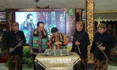 Bupati Sumenep melakukan memorandum of understanding (MoU) dengan Jaringan Pengusaha Nasional (Japnas). (Foto: Danial Kafi/NusantaraNews)