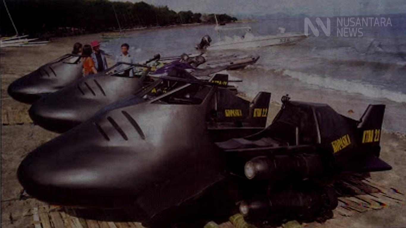 Kendaraan Tempur Bawah Air Kopaska (Foto: Ilustrasi Nusantaranews.co)