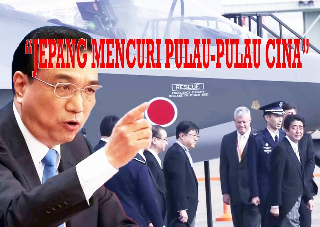 Kengkitan Militer Jepang dan Reaksi Cina