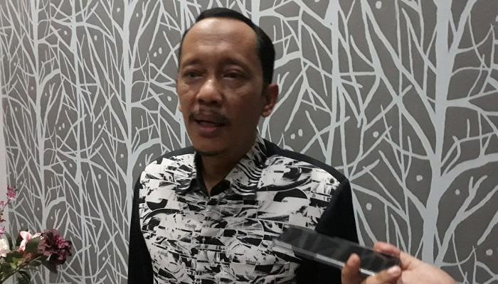Dewan Penasehat Pimpinan Pusat GP Ansor Hasan Aminuddin meminta Ketua Umum PP GP Ansor Yaqut Cholil Qoumas (Gus Yaqut) menunjuk Pelaksanan Tugas Sementara Ketua GP Ansor Jatim, Rabu (18/4). (Foto: Setya/NusnataraNews)