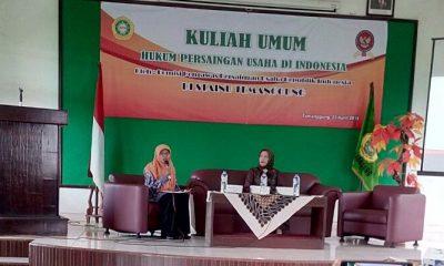 KPPU RI Ajak Mahasiswa STAINU Temanggung Lawan Kartel. (FOTO: NUSANTARANEWS.CO/Wahyu Egi Widayat)