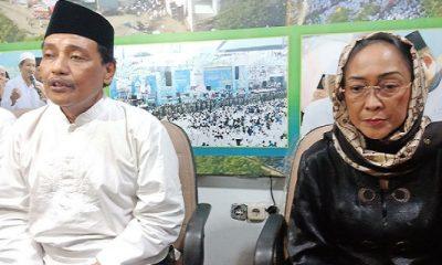 PWNU Jatim mencabut laporan terhadap Sukmawati Soekarno Putri terkait puisi berjudul Ibu Indonesia yang dinilai melecehkan ajaran Islam, Rabu (18/4/2018). (Foto: Setya/NusantaraNews)
