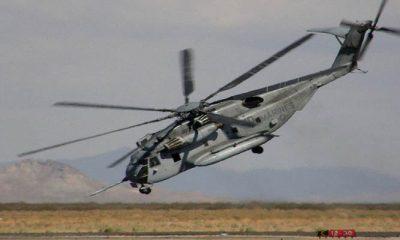 Helikopter Sikorsky CH-53 Super Stallion milik Korps Marinir dan Angkatan Laut AS