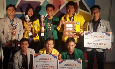 Mahasiswa UIN Alauddin Makasar Raih Juara III Lomba Karya Tulis Ilmiah Tingkat Nasional