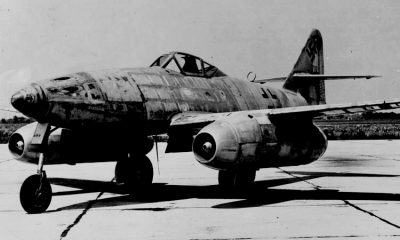 Messerschmitt Me 262 Jet Tempur Pertama Dunia (Foto Istiemwa)