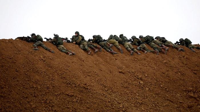 Militer Israel Siap Siaga hadapi demonstran di Jalur Gaza. (FOTO: Al-Monitor)