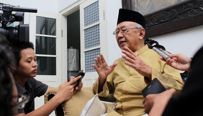 Pengasuh pondok pesantren Tebu Ireng, KH Sholahuddin Wachid. (FOTO: Antara/Syaiful Arif)