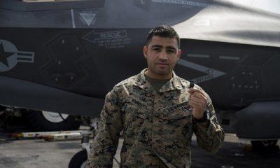 Perwira Kepala Korps Marinir 2 Daniel Rodriguez, komandan pengawas Combat Logistics Battalion 31