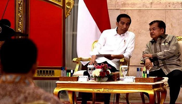 Presiden Jokowi dan Wakil Presiden Jusuf Kalla. (Foto: Istimewa)