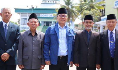 Zulkifli Hasab saar Sowan Kyai Gontor Ponorogo (Foto Dok. Nusantaranews/Istimewa)
