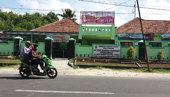 Puskesmas Pragaan Canangkan Pendaftaran Online untuk Pasien. (FOTO: NUSANTARANEWS.CO/ Moh. Dayat)