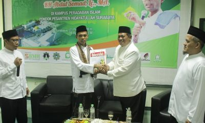 Ustadz Abdul Somad Kunjungi Pesantren Hidayatullah Surabaya. (FOTO: NUSANTARANEWS.CO/BMH)
