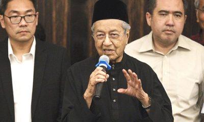 Perdana Menteri Malaysia terpilih pada Pemilu 2018, Mahathir Mohamad.