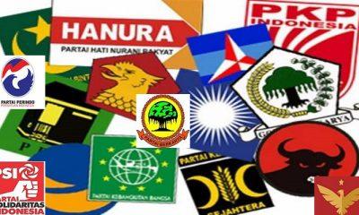 Partai politik peserta Pemilu 2019. (Foto: Istimewa)