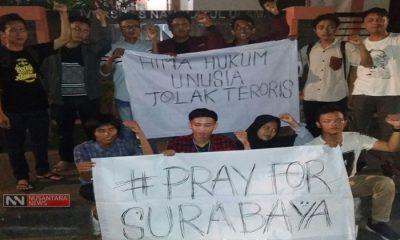 Aksi Solidaritas Korban Bom (Foto Dok. Nusantaranews)