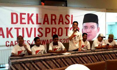 Aktifis Pro TGB Deklarasi Dukunga TGB Jadi Capres 2019. (FOTO: NUSANTARANEWS.CO)