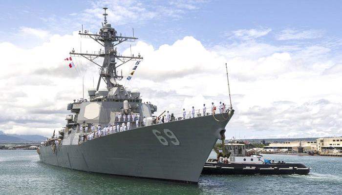 kapal perusak misil, kapal perusak rudal, uss milius, kapal laut as, kapal perang, indo pasifik, kapal angkatan laut as, kapal canggih as, kapal destroyer, destroyer squadron 15, kawasan indo pasifik, nusantaranews
