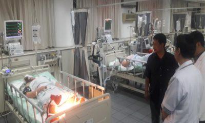 Bantu Rehabilitasi Ledakan Bom Di Surabaya,DPRD Jatim Siapkan Dana On Call. (FOTO: NUSANTARANEWS.CO/ Tri Wahyudi)