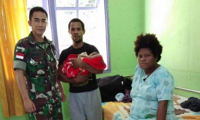 Berikan Pelayanan Kesehatan, Satgas Pamtas Berada di Garda Depan