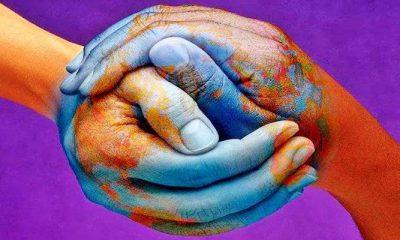 Bumi yang Damai. (Lukisan: Alan Mercer's)