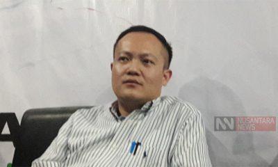 Bendahara Kartar (Karang Taruna) Jatim Felix Susanto secara resmi maju dalam pemilihan Ketua KNPI Jatim. (FOTO: NUSANTARANEWS.CO/Setya)