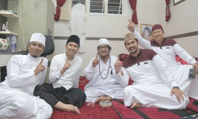 Emil Dardak dan KH Muzakki Syah. (Foto: NusantaraNews/Setya)