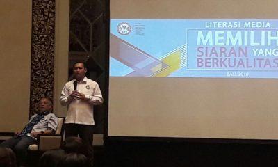 Gelar Literasi Media di Bali, Ubaidillah; Masyarakat Punya Andil Awasi Televisi dan Radio. (FOTO: NUSANTARANEWS.CO/Memed)