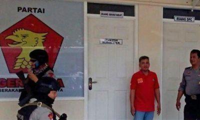 IPW Kecam Keras Aksi Brimob Datangi Kantor DPD Gerindra Jateng. (FOTO: Istimewa)